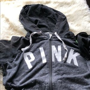FINAL PRICE VS PINK hoodie with pockets